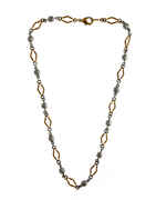 Fashionable Gold-Silver Chain For Western Wear