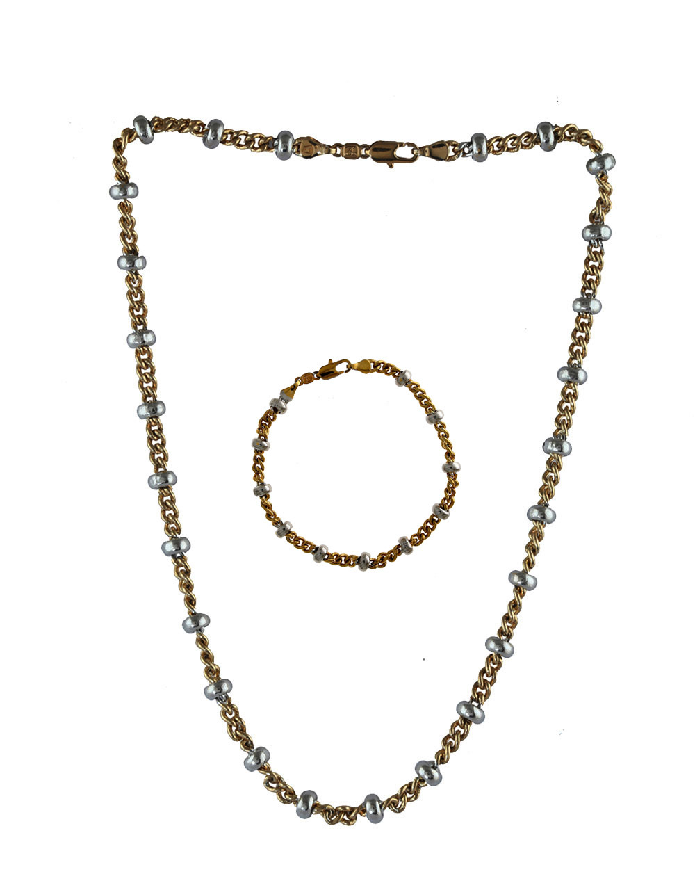 Adorable Gold Finish Chain-Bracelets Combo Jewellery