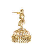 Designer Antique Gold Finish Fancy Long Necklace For Women