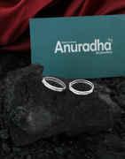 Unique Design Silver Finish Toe Ring For Women