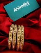 Designer Antique Gold Finish Stunning Bangles For Women