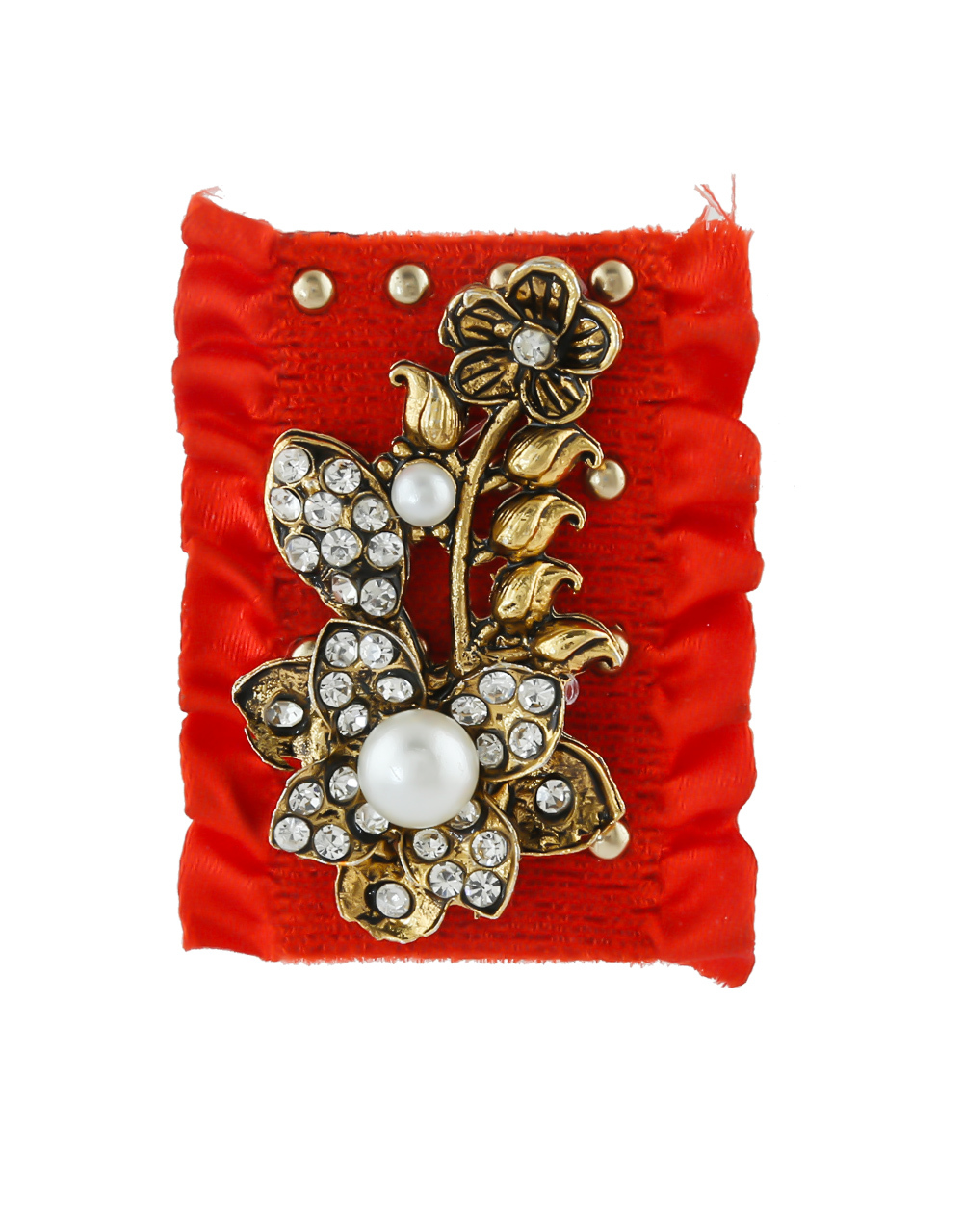 Multi Colour Stunning Fancy Party Wear Saree Pin Combo