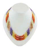 Multi Colour Designer Beads Mala For Party Wear Designer