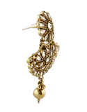 Fancy Antique Gold Finish Stunning Necklace Styled With Beads Fancy Necklace
