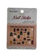 Fancy Perfume Bottle Nail Art Sticker