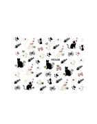 Black Colour Kitty Cat Nail Sticker