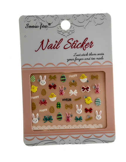 Adorable Nail Art Sticker For Girls Simple