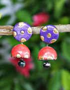 Multi Colour Simple Handmade Terracotta Jewellery For Girls