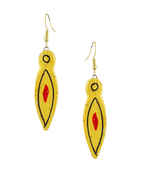 Yellow Colour Fancy Stylish Terracotta Jewellery