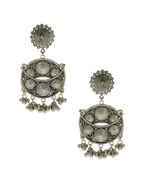 Designer Oxidised Navratri Oxidised Garbha Earrings