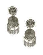 Fancy Oxidised Finish Fancy Earrings For Girls