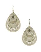 Silver Finish Fancy Earring For Girls