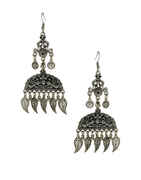 Fancy Oxidised Finish Dandiya Earring Navratri Wear