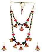 Multi Colour Fancy Dandiya Necklace Jewellery