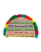Multi Colour Hat Topi Thread Garba Jewellery