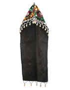 Traditional Black Colour Fancy Garba Jewellery Topi