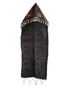 Fancy Multi Colour Black Navratri Hat For Women Trendy