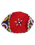Fashionable Red Colour Thread Dandiya Navratri Jewellery