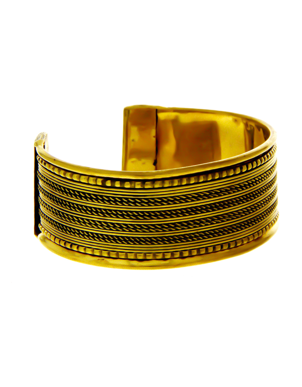 Adorable Antique Gold Finish Kada Bracelets For Girls