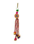 Multi Colour Gold Finish Challa For Garbha Jewellery
