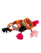 Orange Colour Thread Bangles For Garba Fancy