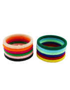 Simple Multi Colour Daily Wear Fancy Bangles