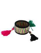 Black Colour Thread Bangles Jewellery For Navratri