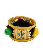 Fancy Black Colour Dandiya Navratri Jewellery