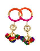 Multi Colour Bangles For Navratri Jewellery