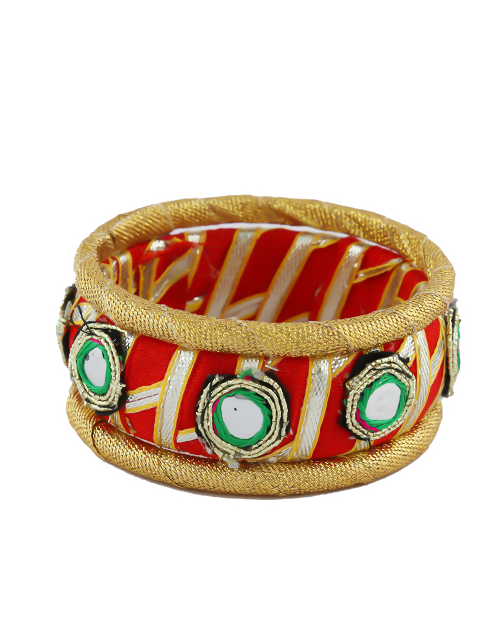 Red Colour Fancy Navratri Jewellery For Women