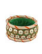 Fashionable Green Colour Designer Dandiya Bangles
