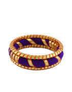 Purple Colour Designer Navratri Bangles For Girls