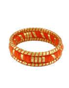 Orange Colour Dandiya Navratri Jewellery For Women
