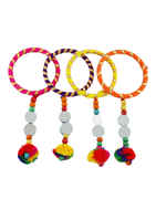 Fancy Thread Navratri Bangles For Girls