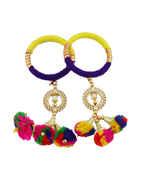 Fancy Thread Garba Navratri Bangles For Girls