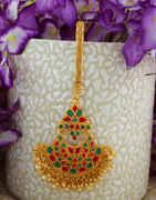 Multi Colour Gold Finish Fancy Wedding Methala