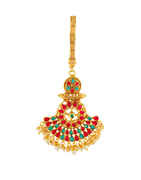 Multi Colour Gold Finish Designer Chabi Challa For Wedding