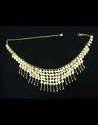 Fancy Gold Finish Navaratri Belly Chain For Girls