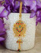 Multi Colour Gold Finish Fancy Challa For Wedding