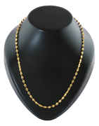 Gold Finish Fashionable Chain For Men Fancy