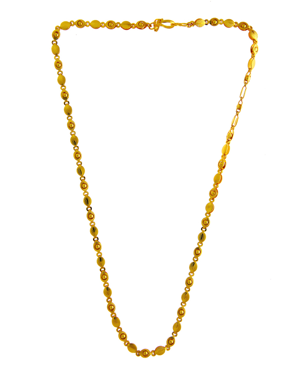 Fashionable Gold Finish Unisex Chain For Fancy Wear