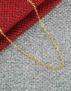 Stylish Gold Finish Chain For Women Trendy
