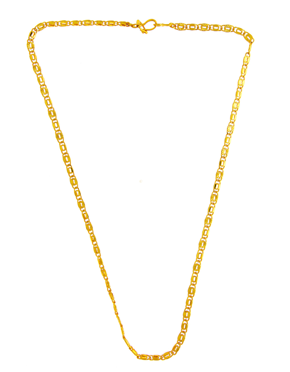 Fashionable Gold Finish Adorable Chain For Men