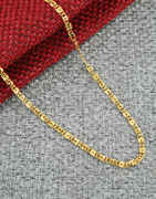 Designer Fancy Gold Finish Trendy Chain For Men