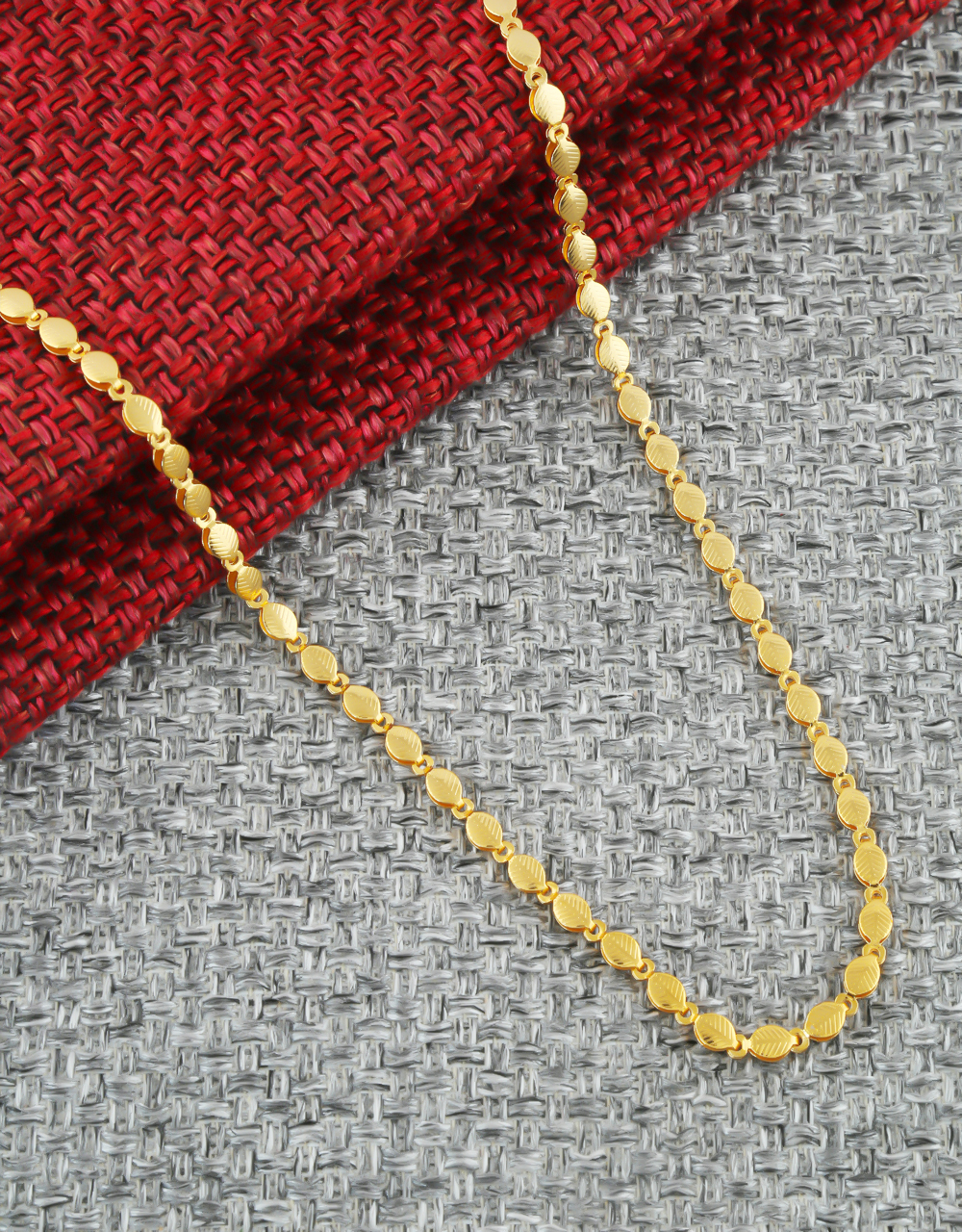 Very Classy Fancy Gold Finish Chain For Women