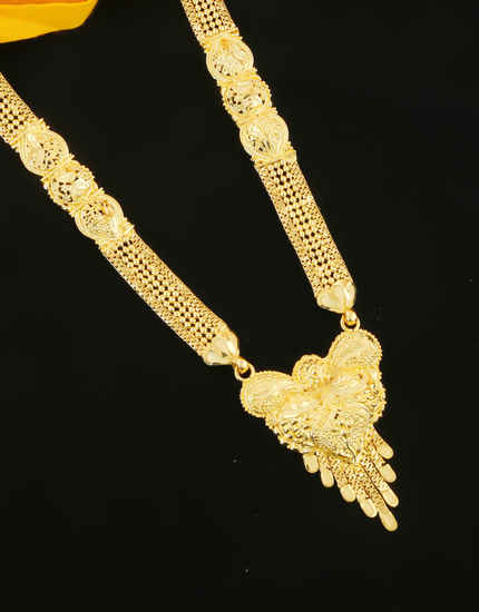 Latest Long Mangalsutra Designs Fancy Diamond Mangalsutra