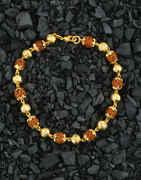 Designer Shiv Rudraksh Mala Bracelets For Mens/Girls