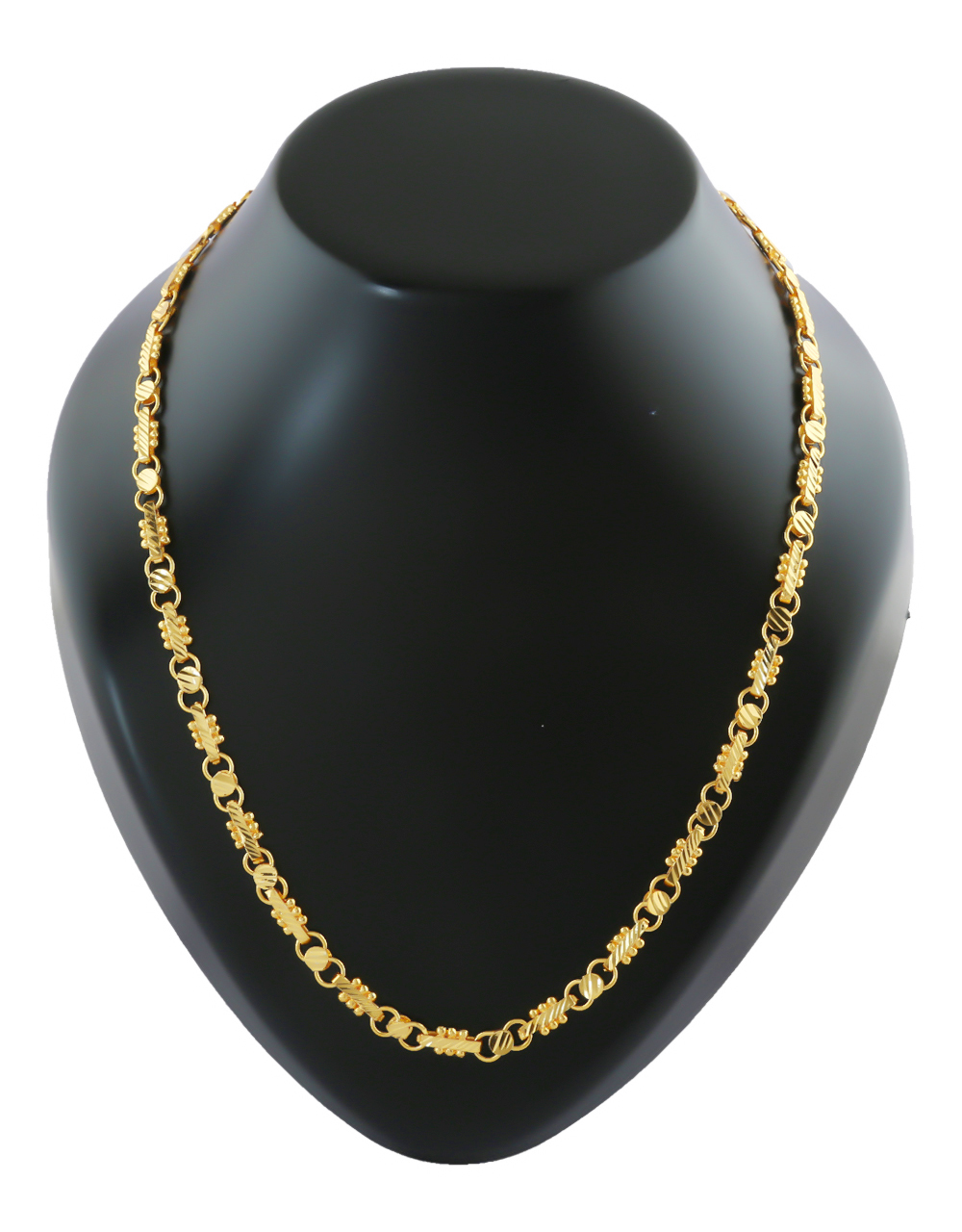 Fashionable Gold Finish Gents Chain