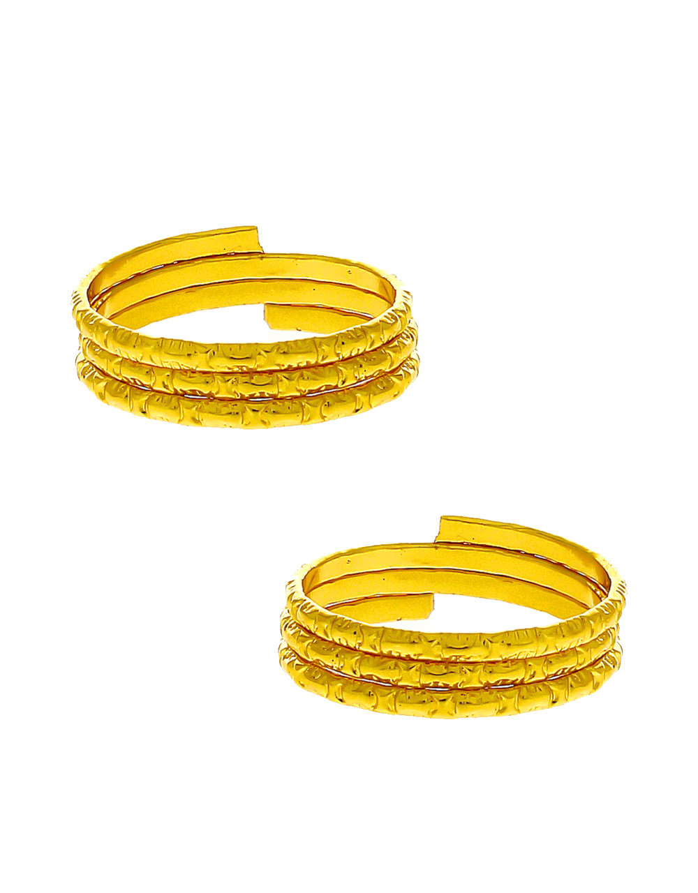 Gold Finish Simple Daily Use Toe Ring