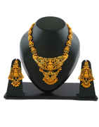 Multi Colour South Indian Jewellery For Women Fancy